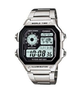 Ceas barbatesc original Casio Sport World Time AE-1200WHD-1A