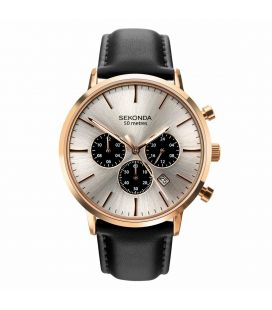 Ceas barbatesc original Sekonda DRESS 1657 Dual Time