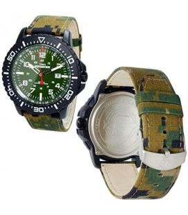 Ceas barbatesc original Timex Uplander Camo EXPEDITION T49965